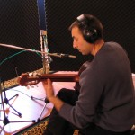 BalcaniaOrchestra-Anton-recording-the-guitar-part-in-Sharen-Dream