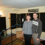 BalcaniaOrchestra-Irene-and-Anton-in-the-studio