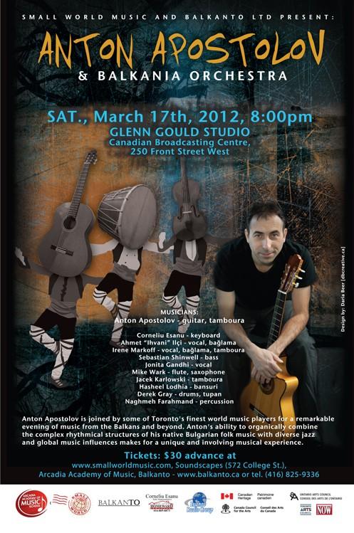 Anton Apostolov and Balkania Orchestra