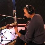 BalcaniaOrchestra-Anton-recording-the-guitar-part-in-Sharen-Dream