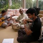 BalcaniaOrchestra-Hasheel-Ganesh-and-Anton-rehearsal