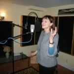 BalcaniaOrchestra-Irene-recording-the-vocal-part-for-Seher-Yeli-Nazli-Yare