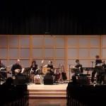 Balkania Orchestra rehearsal before the show in Glenn Gould Studio