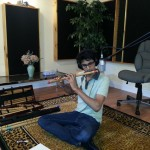GreenSkyProject-Hasheel-recording-flute-part-for-Star-in-a-Jar