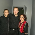 Jacek and Naghmeh at Glenn Gould Studio